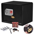 15'' Biometric Fingerprint Electronic Digital Wall Safe Box Keypad Lock Security