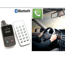 Coche Bluetooth Manos Libre Transmisor FM SD/TF Reproductor MP3 USB
