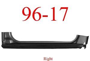 96 17 Chevy Express Right Extended Rocker Panel, GMC Savana Van 0812-102