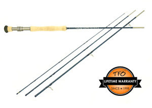 TFO Temple Fork Lefty Kreh Signature TiCR travel Fly Rod 8ft 6in 9ft 5,9,10,14wt