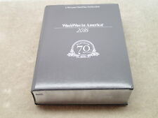 Marquis Who's Who in America 2016 Platinum 70th Edition Volume 1 Only A-L