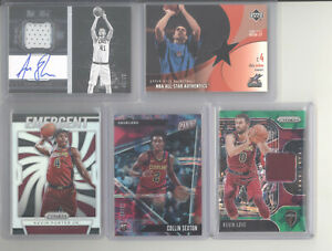 Cleveland Cavaliers auto jersey serial # RC 10 card lot Kevin Love Porter Sexton