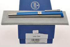 """Montegrappa Bugatti Pur Sang L.E. """"Bluette"""" fountain pen new pristine  B nib"""