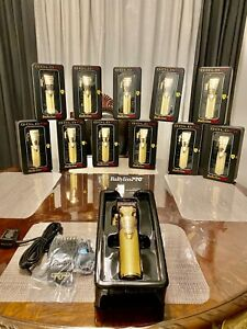 Babyliss Pro GOLD FX FX870G Cord/Cordless Lithium-Ion Adjustable Clipper NEW