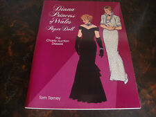 Diana Princess Of Wales-Paper Dolls-Dover-1997-Uncut-9x 12-Tierney