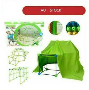 Building Your Own Den Kit Play Construction Fort Tent Making Set Builder Toy Au