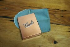 Vintage 70's Coppercraft Guild Cache Phot-Pak – Hinged wallet with cover