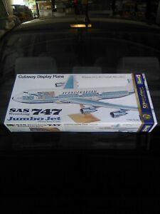 "Vintage Revell 1/144 Boeing 747 ""Cutaway Display""  Jumbo Jet Model Kit Sealed!"