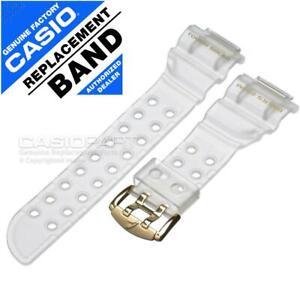 Casio Translucent Watch Band G-Shock Frogman 25th Glorious Gold GW-225E-7 Strap