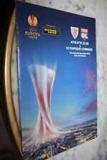 PROGRAMME )) ATHLETIC BILBAO  V LYON OL )) Saison 2012/2013 europa League