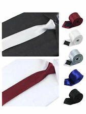 Unbranded Satin Skinny Ties for Men