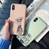 Disney Cartoon Woody TPU Phone Case Cover For iPhone X XS Max XR 6 7 8 Plus