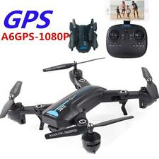 A6 GPS Drone With HD 1080P Wide-angle 300m long distance Foldable 4CH Aircraft F