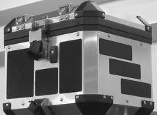 BMW R1200GS 05-12 F800GS Aluminum Adventure Trunk Top Case Black Reflective Kit