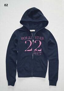 New Hollister Women's Graphic Hoodie Size XS, Small