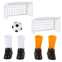 Party Finger Football Soccer Match Funny Finger Toy Game Sets With Two Goal P8D2