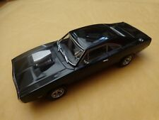 GREENLIGHT 1/43 - DOM'S 1970 DODGE CHARGER FAST & FURIOUS CAR 86201