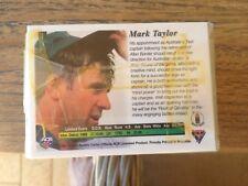 cricket card base set 110 cards 1994/95 by futera