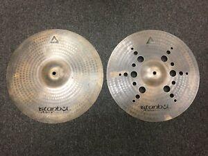 "Istanbul Agop 15"" Xist Ion Dark Hi-Hat Cymbals (Pair)"