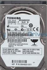 MK6465GSX, A0/GJ002C, HDD2H81 F VL01 B, Toshiba 640GB SATA 2.5 Hard Drive