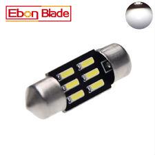 2Pcs x Car 31mm 6 LED 4014 SMD Festoon Dome Car Bulb Light Lamp Bright White