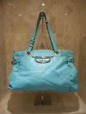 BRAND NEW Net A Porter Mulberry Turquoise Jenah Tote Shoulder Bag + Care Card
