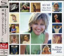 OLIVIA NEWTON-JOHN-40/40 THE BEST...-JAPAN 2 SHM-CD BONUS TRACK Ltd/Ed G25