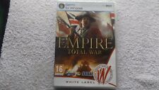 EMPIRE TOTAL WAR PC DVD-ROM STRATEGY RPS FAST POST ( brand new & sealed )