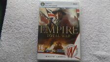 Empire TOTAL WAR PC DVD-ROM STRATEGIA RPS Post veloce (Sigillato Nuovo di Zecca &)