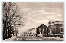 Washington Street Looking South Freeland PA Pennsylvania Postcard C10