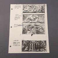RETURN OF THE JEDI - Production Used Storyboard - Luke vs. Rancor (7)