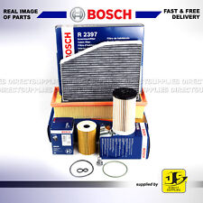 OEM BOSCH SERVICE KIT AUDI A3 (8P1 8PA) 1.6 2.0 TDI OIL AIR FUEL CABIN FILTERS