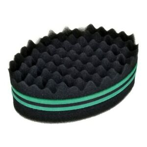 2/3x Wave Barber Hair Sponge Brush Double-Side Twist Curls Coil Dreads Afro Locs
