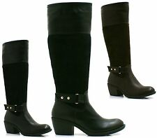 Unbranded Synthetic Zip Biker Boots for Women
