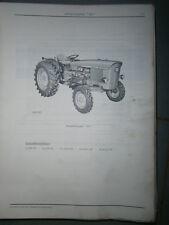 John Deere 820 tracteur : ersatzteilliste 1967