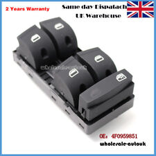 4F0959851 Master Window Control Switch Button FIT Audi A6 C6 959 851 Driver Side