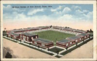 Tulsa OK McClure System of Unit Schools c1920 Postcard