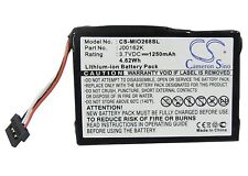 NEW J00162K Battery For PDA Mitac Mio 138, 268, 269,C310, C310x, C510e, C710