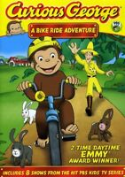 Curious George: A Bike Ride Adventure [New DVD] Full Frame, Subtitled, Dolby