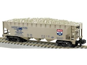 NEW S American Flyer 6-48662 3 Bay Hopper w/Gravel Load American Flyer #22
