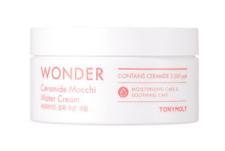 TONY MOLY Tonymoly Wonder Ceramide Mocchi Water Cream 300ml + 1 sample US Seller