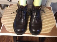 J Crew Brown Leather Chukka Ankle Boots  Mens Size 7 M, Made in Italy