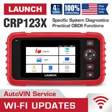 Launch X431 CRP123X Check Engine ABS Airbag Diagnostic Scanner OBD2 Code Reader