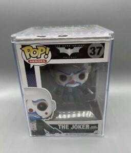 Funko Pop! The Joker BANK ROBBER *Vaulted* Dark Knight #37 - MINT in Hard Stack