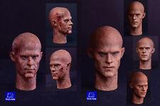 First Rate 1/6  2 * Deadpool Ryan Reynolds Head Sculpt Double Pack HW/Neck