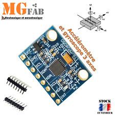 Module GY-521 MPU-6050 Accéléromètre 3 axes inclinomètre  MPU6050 Arduino RC IMU