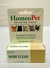HomeoPet WRM Clear Cat