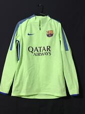 Fc Barcelona Nike Player Issue Training Top Sweat Shirt Football Large Soccer