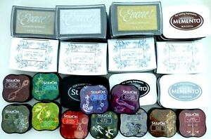 VersaColor, VersaMagic, VersaFine, Memento, Encore, StazOn Ink Pads