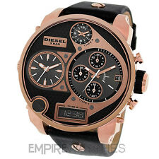 * nouveau * hommes diesel digital quartz sba xl Or Rose Watch-DZ7261-rrp £ 309